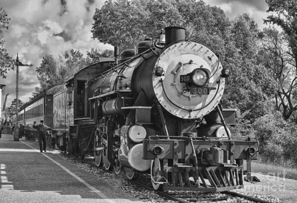 Railway Station Photograph - The Brakeman by Robert Frederick