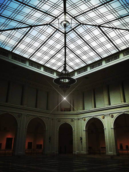 Photograph - The Brooklyn Museum's Beaux-arts Court by Natasha Marco