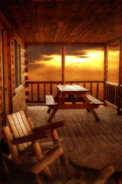 Cabin In The Woods Wall Art - Photograph - The Cabin by Joann Vitali