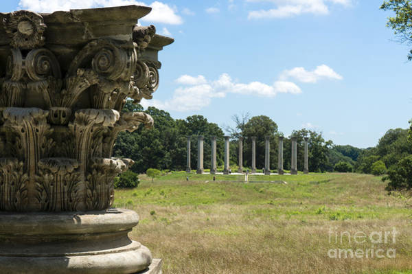 Photograph - The Capitol Columns At The National Arboretum In Washington Dc by William Kuta