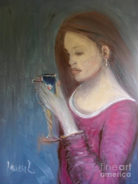Painting - The Chalice by Laurie Lundquist