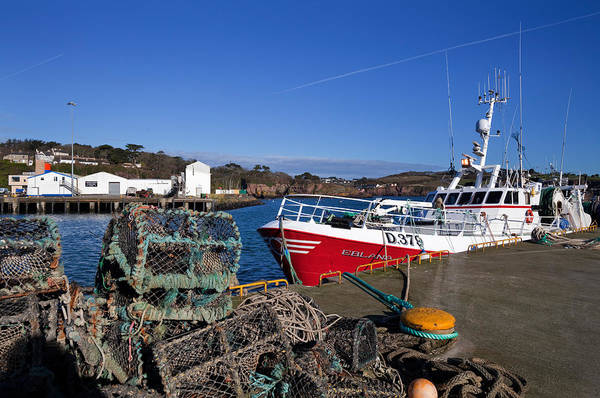 Dunmore East Photograph - The Fishing Harbour, Dunmore East by Panoramic Images