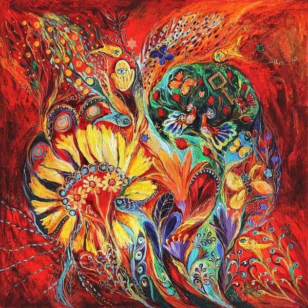 Wall Art - Painting - The Flowering by Elena Kotliarker