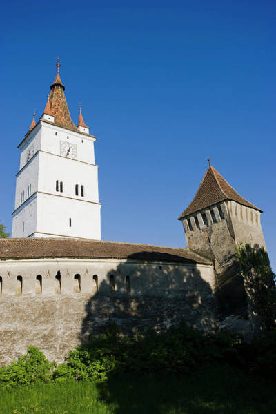 Fortification Photograph - The German Fortified Church Of Harman by Martin Zwick