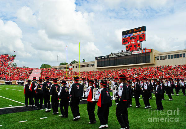 Photograph - The Going Band From Raiderland by Mae Wertz