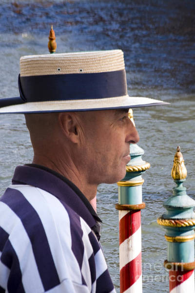 Photograph - The Gondolier by Heiko Koehrer-Wagner