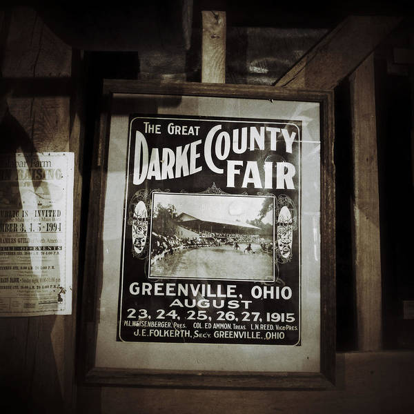 Photograph - The Great Darke County Fair 1915 by Natasha Marco