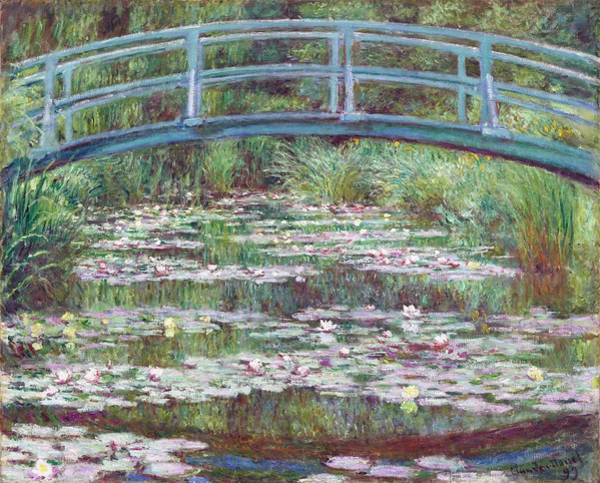 The Japanese Footbridge Art Print