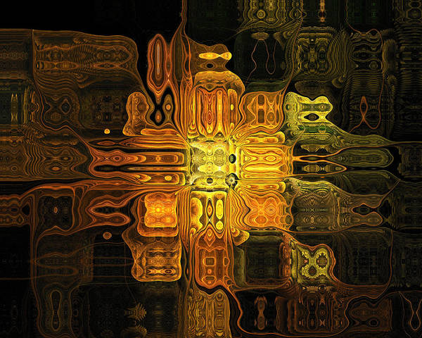 Digital Art - The Midas Touch by Amanda Moore