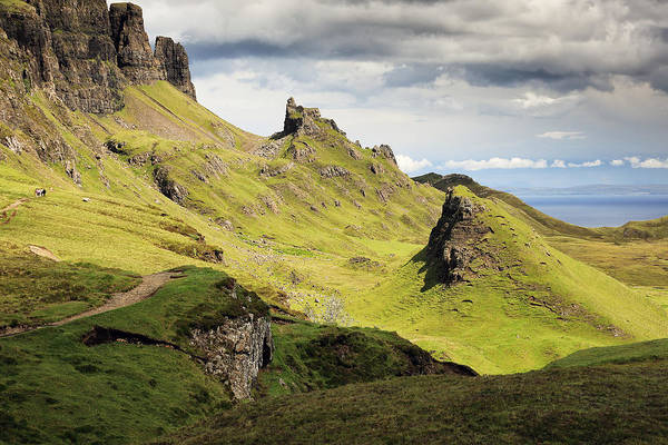 Photograph - The Quiraing by Grant Glendinning