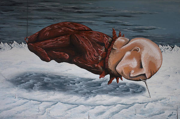 Wall Art - Painting - The Rut by Matthew Blum