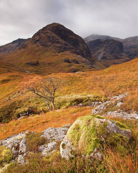 Wall Art - Photograph - The Three Sisters In The Pass Of by Julian Elliott Photography
