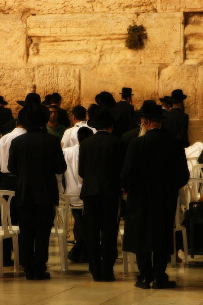 Photograph - The Wailing Wall by Doc Braham