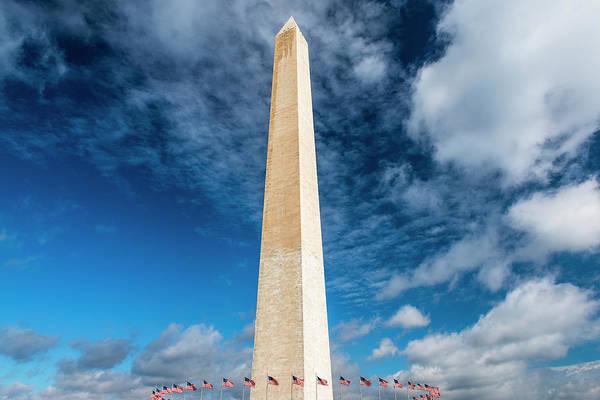 Wall Art - Photograph - The Washington Monument, Washington Dc by Russ Bishop