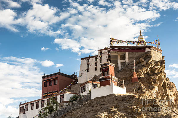 Photograph - Thiksey Gompa In Ladakh by Didier Marti