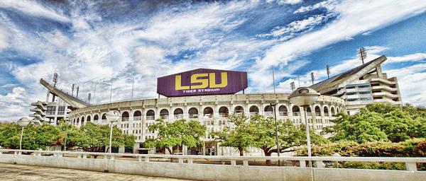 Wall Art - Photograph - Tiger Stadium Panorama - Hdr by Scott Pellegrin