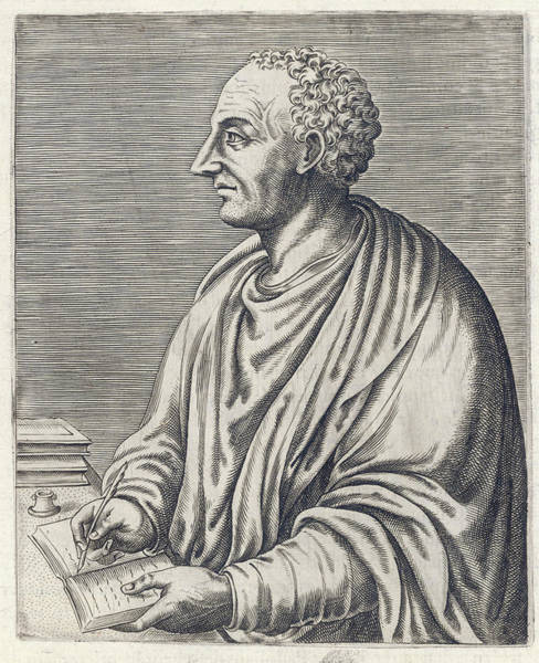 Wall Art - Drawing - Titus Livius  Roman Historian by Mary Evans Picture Library
