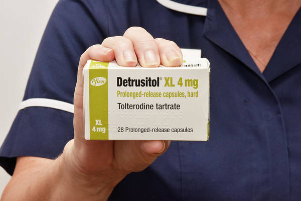 Package Wall Art - Photograph - Tolterodine Incontinence Drug by Dr P. Marazzi/science Photo Library