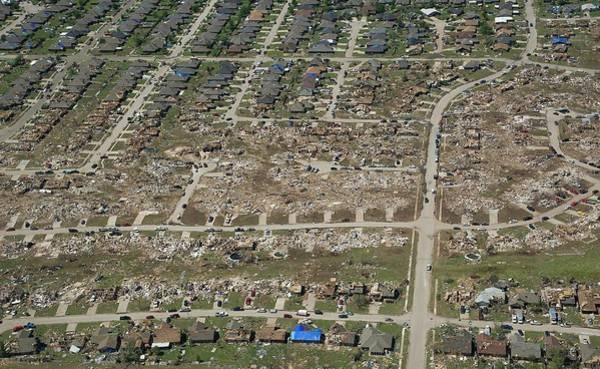 Wall Art - Photograph - Tornado Aftermath by Bradley C. Church