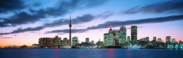 Cn Tower Photograph - Toronto Ontario Canada by Panoramic Images
