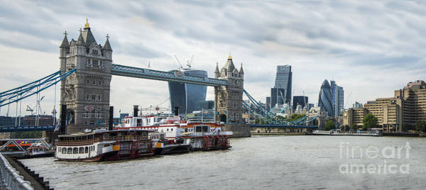 Tower Bridge London Art Print by Donald Davis