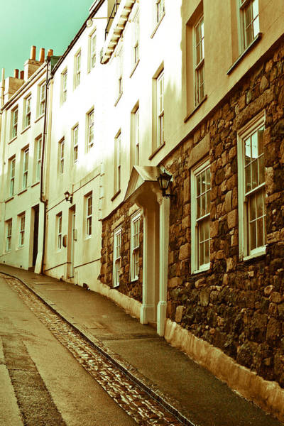 Channel Islands Photograph - Town Houses by Tom Gowanlock