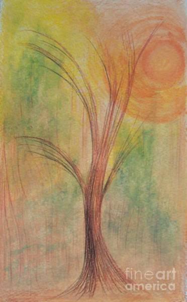Drawing - Tree by David Neace