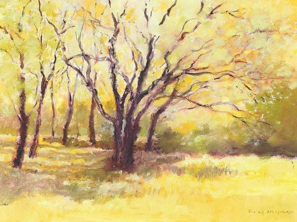 Painting - Trees2 by J Reifsnyder