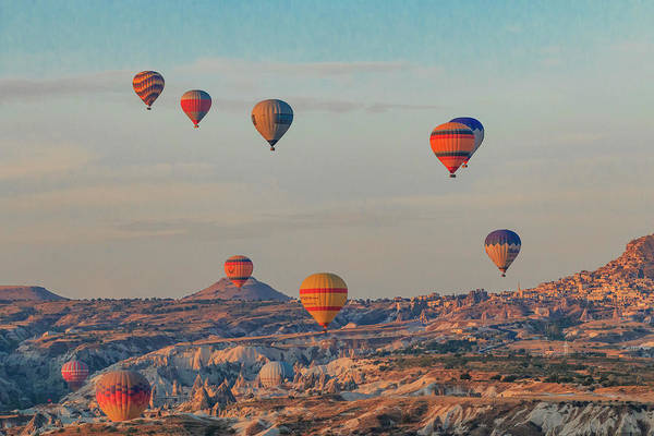 Wall Art - Photograph - Turkey, Anatolia, Cappadocia, Goreme by Emily Wilson