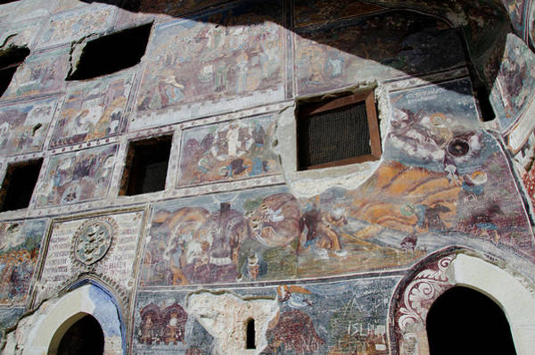 Mural Photograph - Turkey, Trabzon Sumela Monastery (aka by Cindy Miller Hopkins