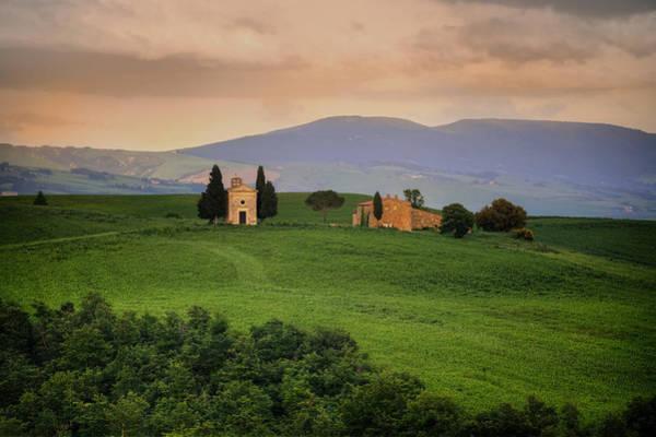 Madonna Photograph - Tuscany - Cappella Di Vitaleta by Joana Kruse