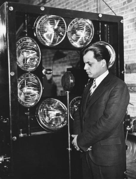 Photograph - Tv Pioneer Ulises Sanabria by Underwood Archives
