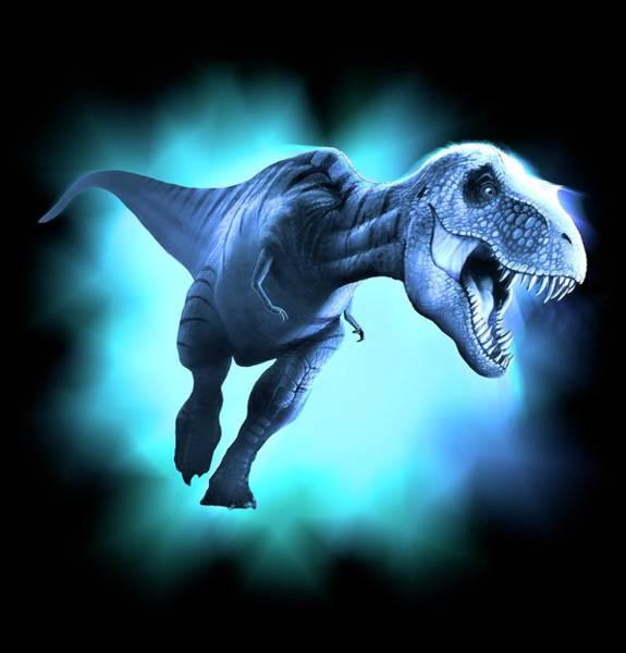 Wall Art - Photograph - Tyrannosaurus Rex Artwork by Mark Garlick/science Photo Library