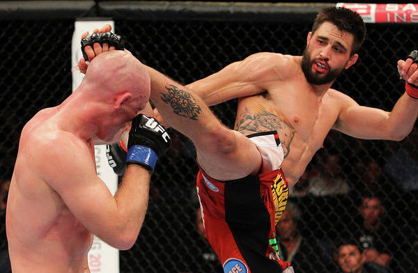 Mulholland Photograph - Ufc On Fox Sports 1 Condit V Kampmann by Ed Mulholland/zuffa Llc