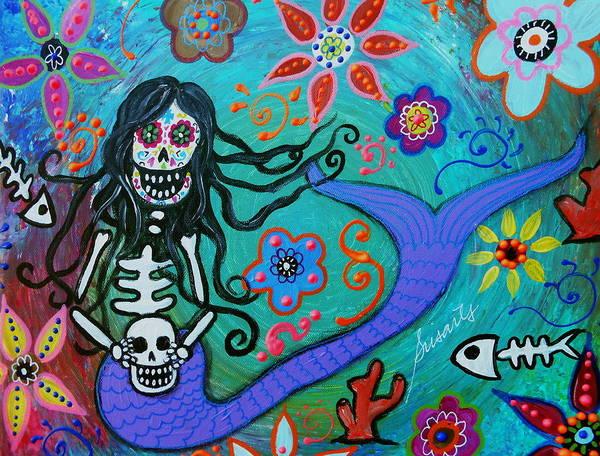 Painting - Under The Sea by Pristine Cartera Turkus