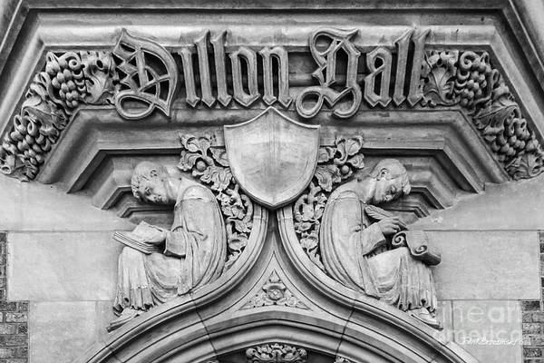 University Of Notre Dame Dillon Hall Art Print