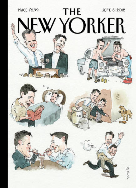 New Yorker September 3rd, 2012 Art Print
