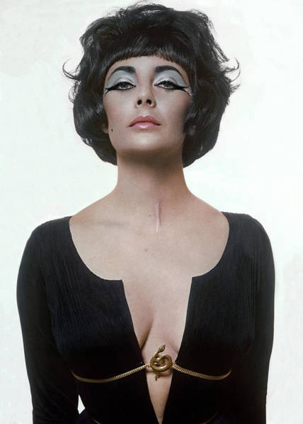 Jewelry Photograph - Vogue January 15th, 1962 by Bert Stern
