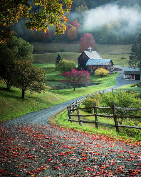 Farmhouse Photograph - Untitled by David H Yang