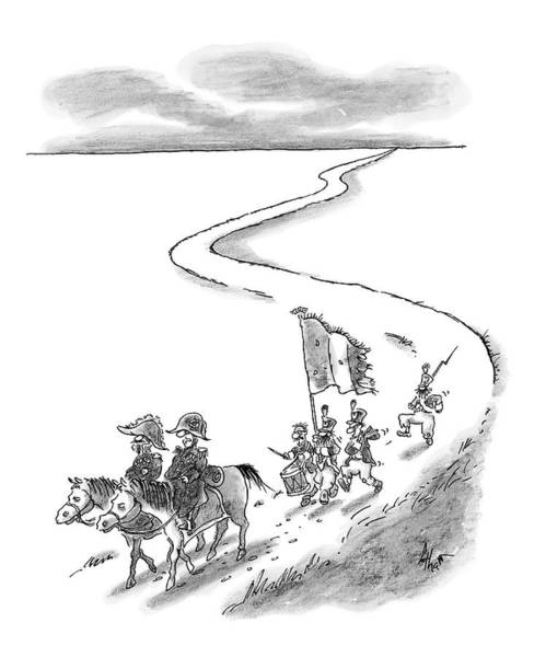 Military Drawing - We're Going To Have To Start Drafting People by Frank Cotham