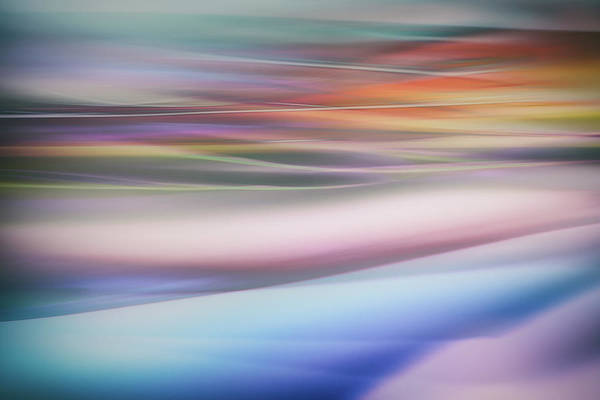 Abstract Smoke Photograph - Untitled by Keren Or