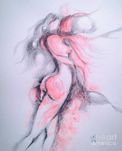 Drawing - Untitled by Marat Essex