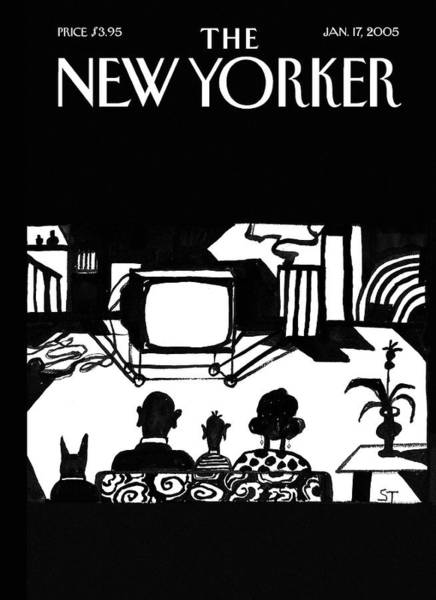 Painting - New Yorker January 17th, 2005 by Saul Steinberg
