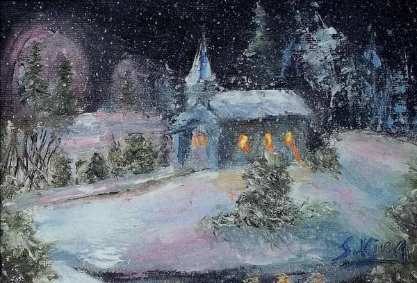 Stephen King Painting - Untitled by Stephen King