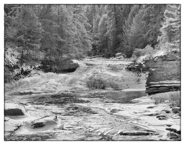 Swallow Falls State Park Wall Art - Photograph - Upper Swallow Falls by Neal Blizzard