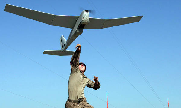 Puma Photograph - Us Military Surveillance Drone by U.s. Navy