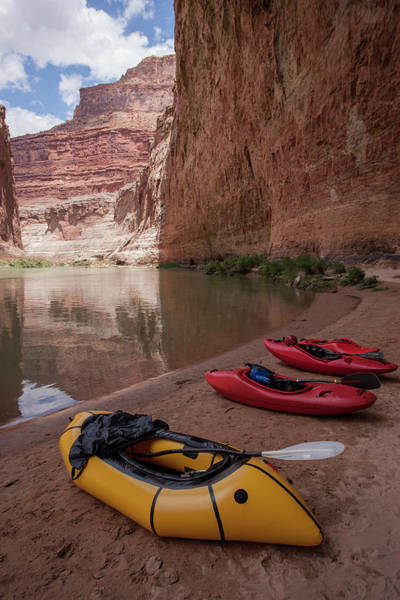 Kayaks Wall Art - Photograph - Usa, Arizona, Grand Canyon National Park by Jaynes Gallery