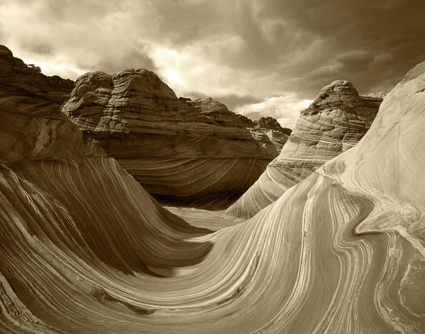 Paria Canyon Photograph - Usa, Arizona, Paria Canyon, The Wave by Adam Jones