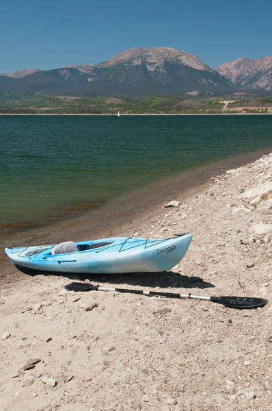 Kayaks Wall Art - Photograph - Usa, Co, Dillon Reservoir by Trish Drury
