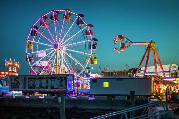 Fiesta Photograph - Usa, Massachusetts, Cape Ann by Walter Bibikow